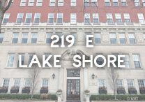 219 E Lake Shore condos for sale
