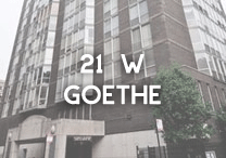 21 W Goethe condos for sale